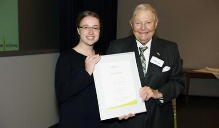 Erster Platz der CLAAS Stiftung geht an Dagmar Wicklow